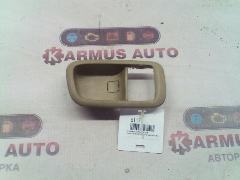 Ручка двери внутренняя Toyota Altezza GXE10 1AZFSE правая