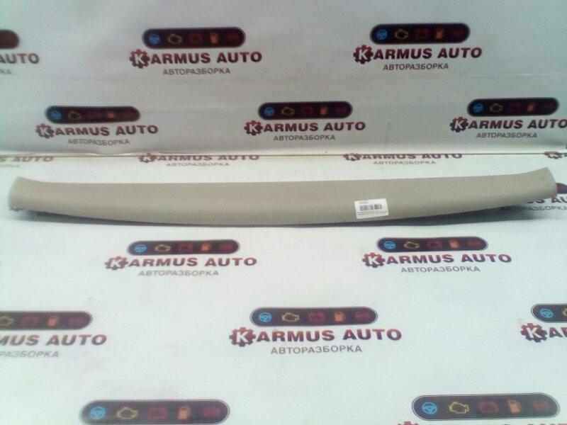 Обшивка двери багажника Toyota Wish ANE10 1AZFE верхняя