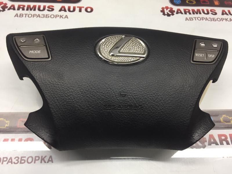 Подушка безопасности в руль Lexus Ls460 USF46 1URFSE 2008 передняя правая