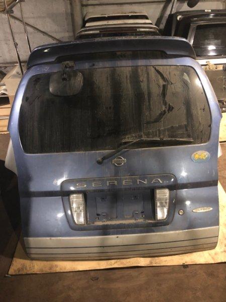 Дверь багажника Nissan Serena PC24 QR25DE