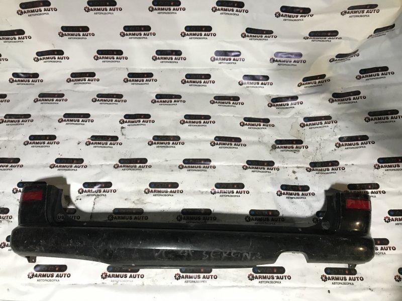 Бампер Nissan Serena PC24 QR20DE задний