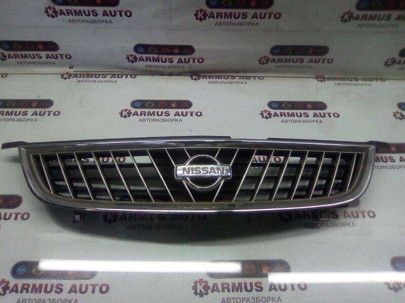 Решетка радиатора Nissan Sunny B15 QG13DE