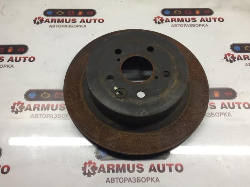 Диск тормозной Toyota Mark X GRS180 3GRFSE задний