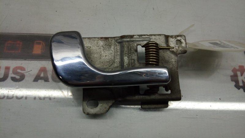 Ручка двери внутренняя Mitsubishi Pajero V11V 4D56 задняя правая
