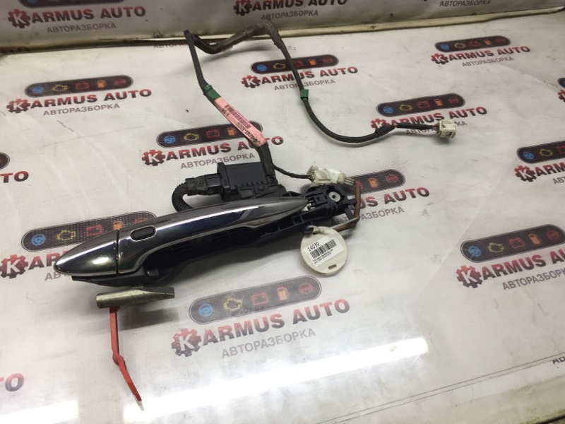 Ручка двери наружная Lexus Ls460 USF46 1URFSE 2008 задняя левая