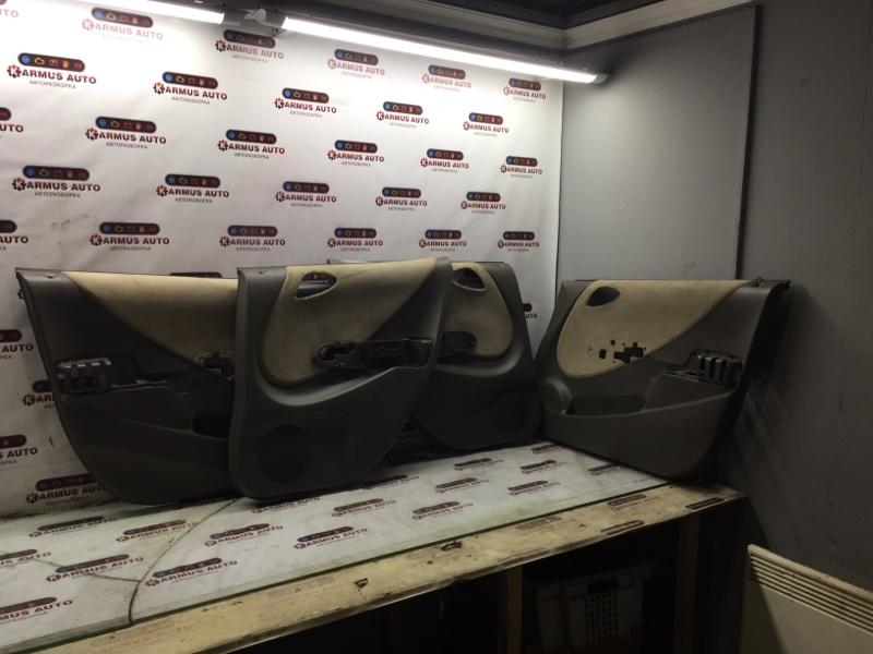 Обшивка двери Honda Fit GD1 L13A