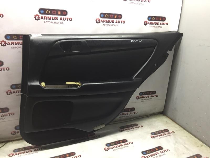 Обшивка двери Toyota Aristo JZS160 2JZGE задняя правая