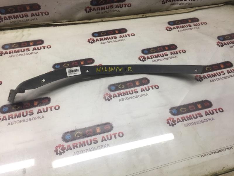 Молдинг крыла Toyota Highlander ASU40 2GRFE задний левый