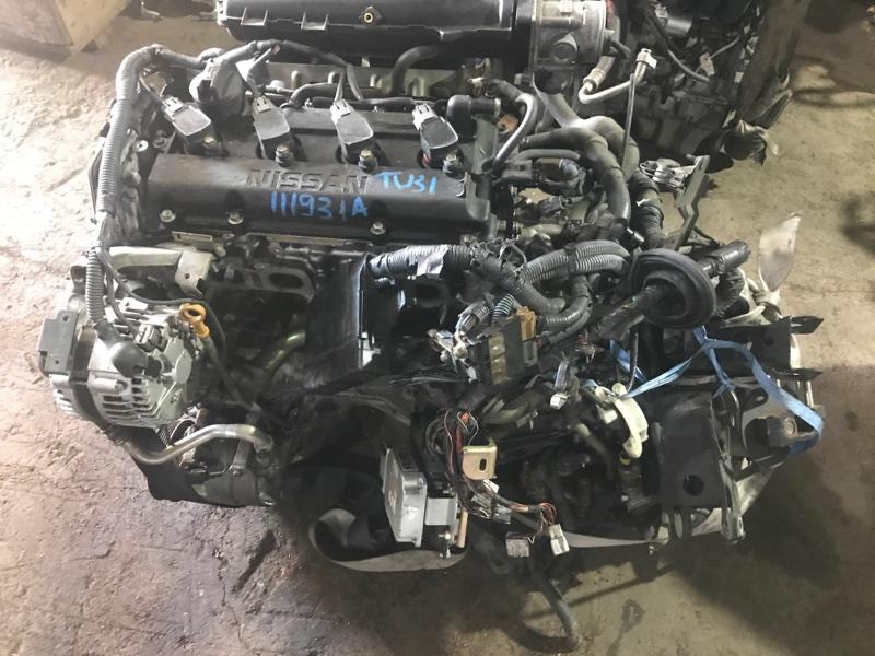 Двигатель Nissan Presage TU31 QR25DE