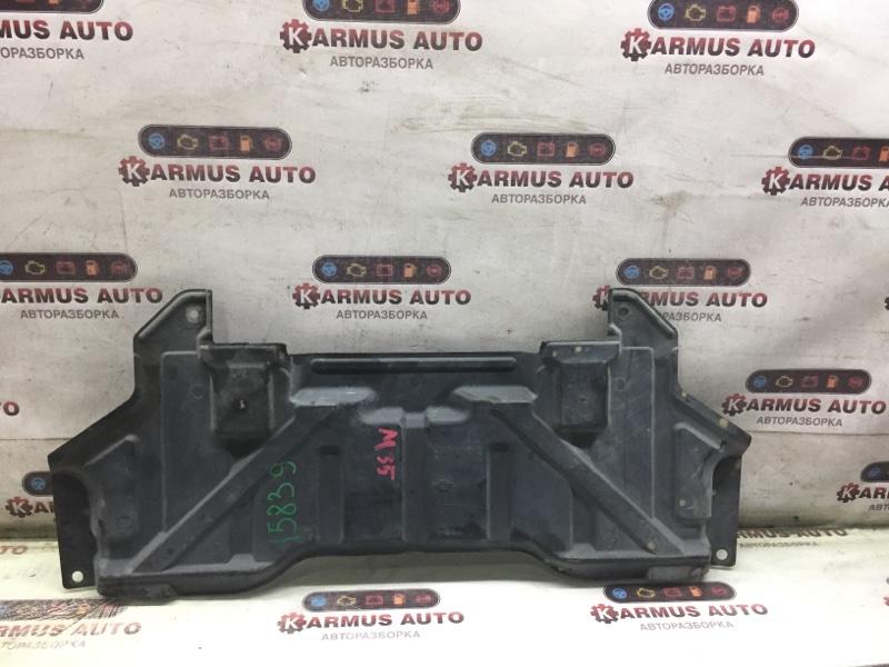 Защита двигателя Nissan Skyline HV35 VQ35DE