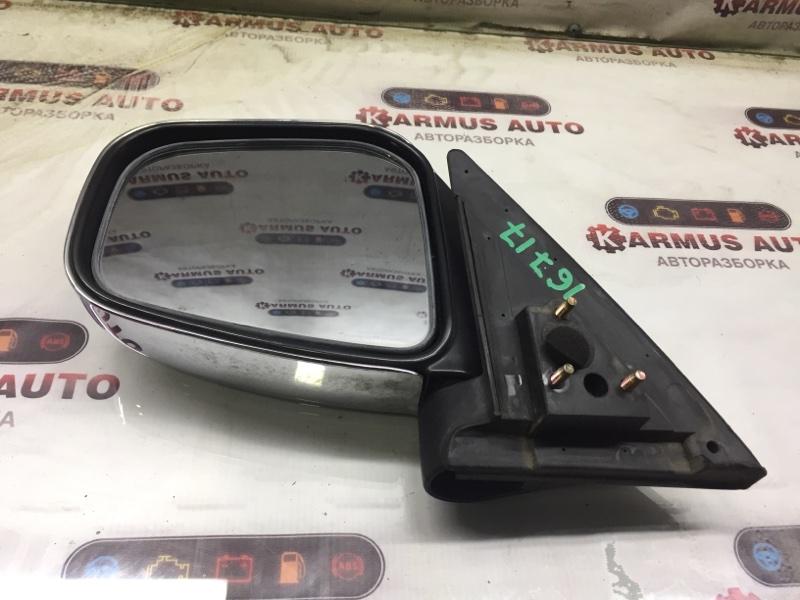 Зеркало заднего вида Mitsubishi Pajero Mini H53A 4A30 левое