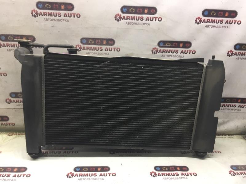 Радиатор охлаждения двигателя Toyota Allex ZZE122 1ZZFE