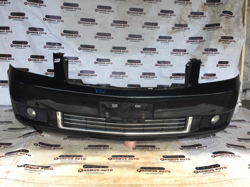 Бампер Nissan Fuga PNY50 VQ25DE передний