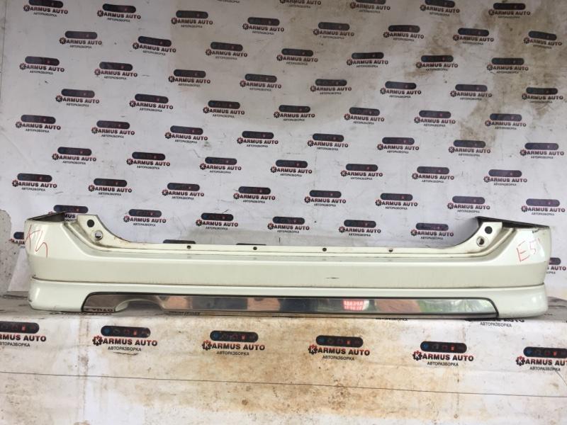 Бампер Nissan Elgrand E51 VQ25DE задний