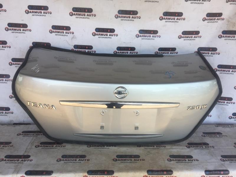 Крышка багажника Nissan Teana J31 QR25DE