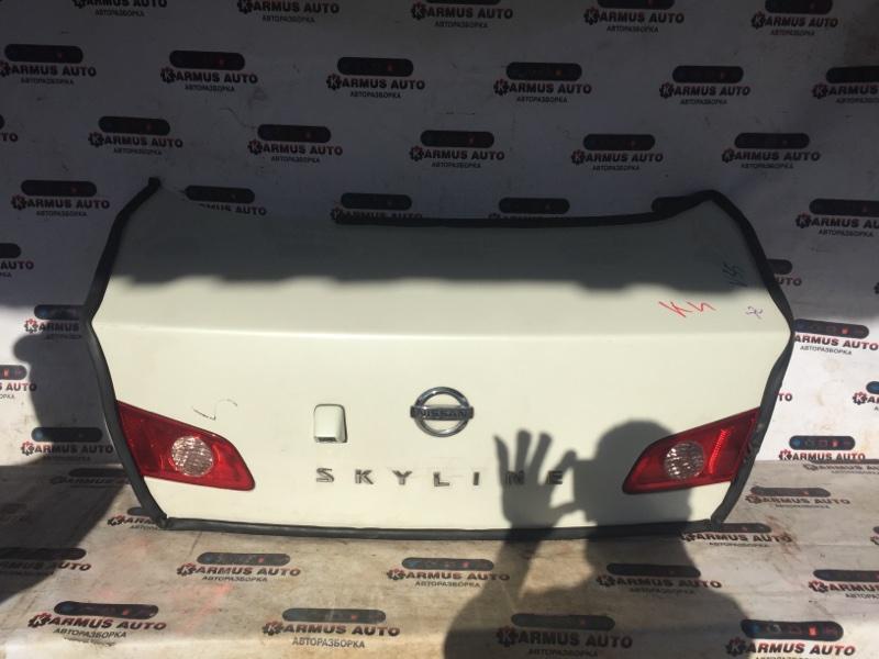 Крышка багажника Nissan Skyline HV35 VQ25DD