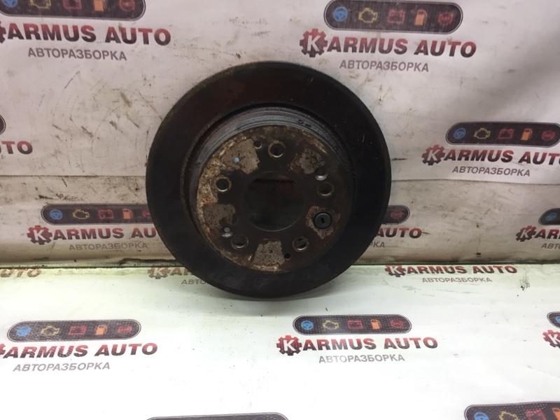Диск тормозной Honda Inspire UA4 задний