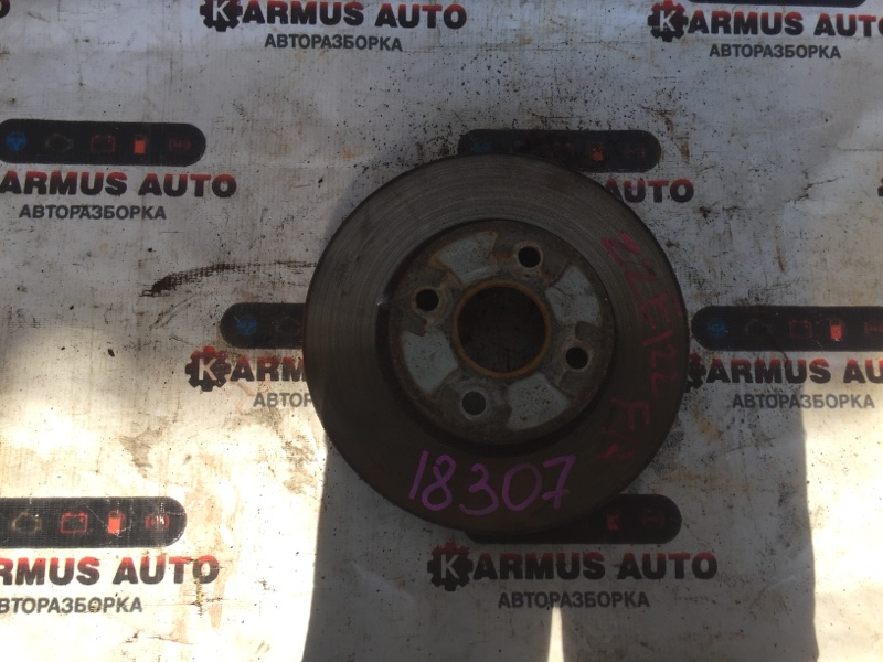 Диск тормозной Toyota Allex NZE124 1NZFE передний