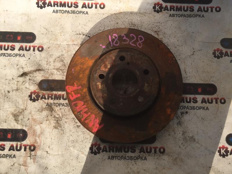 Диск тормозной Toyota Alphard ANH10 3MZFE передний