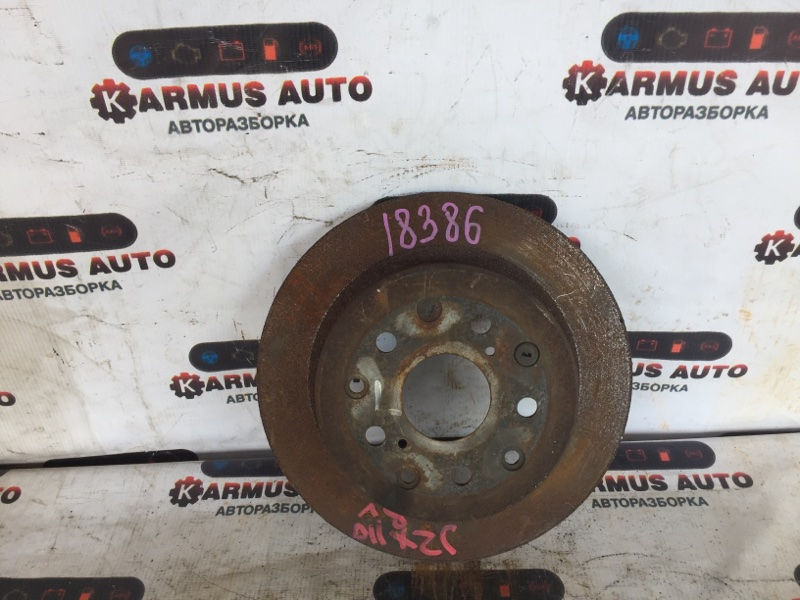 Диск тормозной Toyota Altezza SXE10 1JZFSE задний