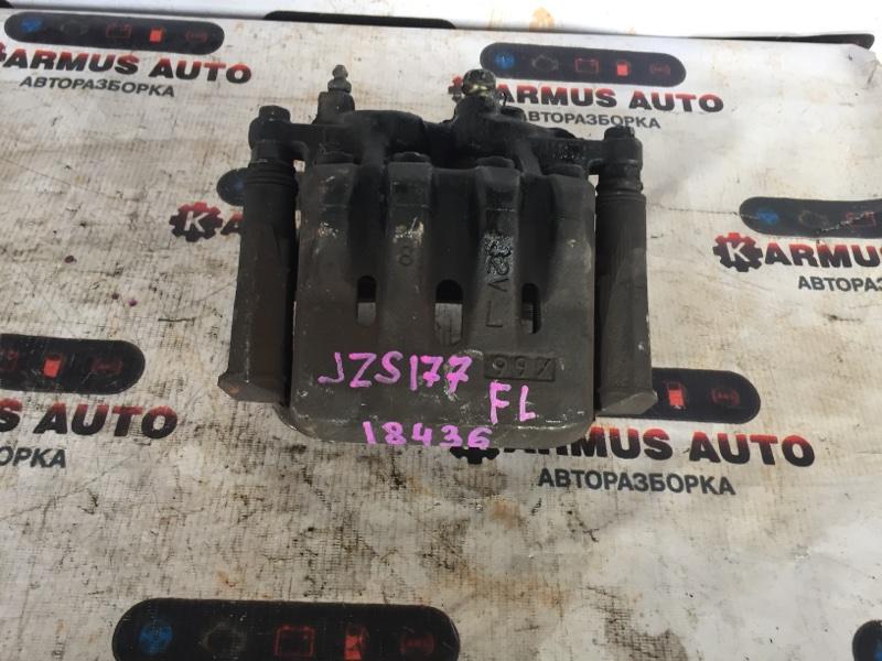 Суппорт Toyota Aristo JZS147 1UZFE передний левый