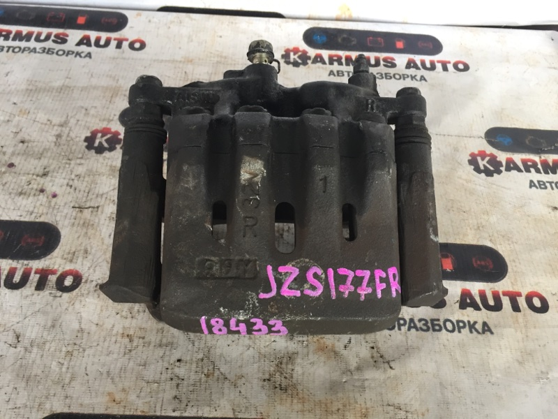 Суппорт Toyota Aristo JZS147 1UZFE передний правый