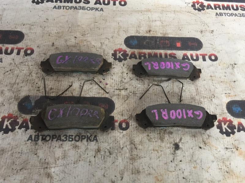 Колодки тормозные Toyota Chaser GX100 1GFE задние