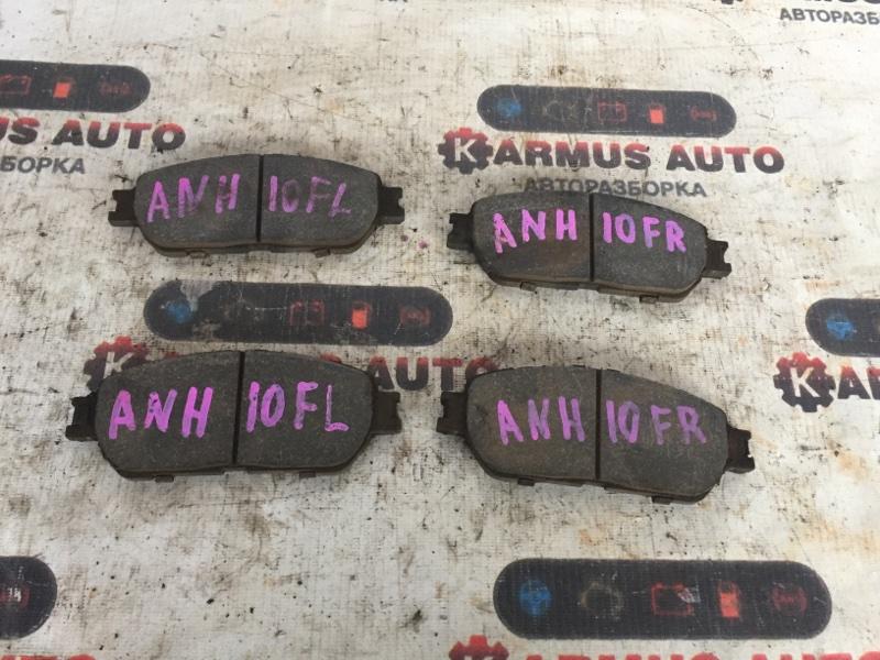 Колодки тормозные Toyota Alphard ANH10 1MZFE передние