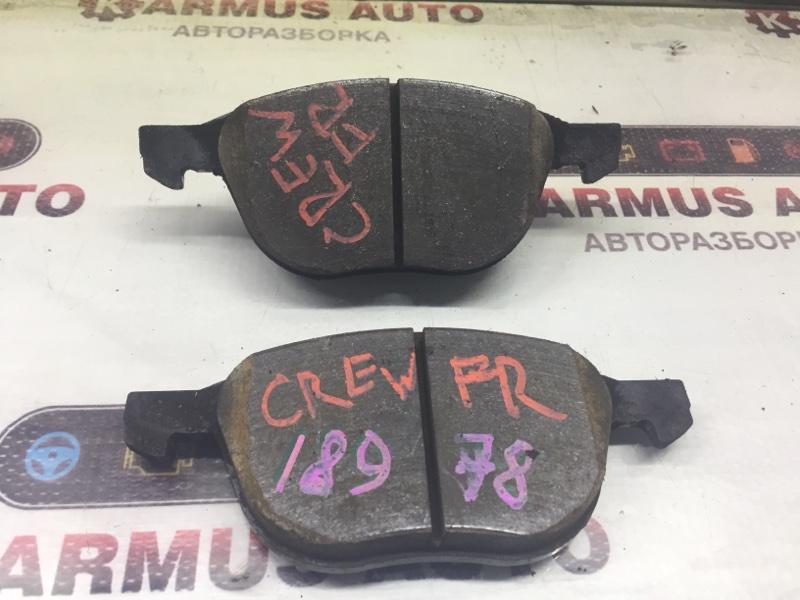 Колодки тормозные Mazda Premacy CREW передние правые