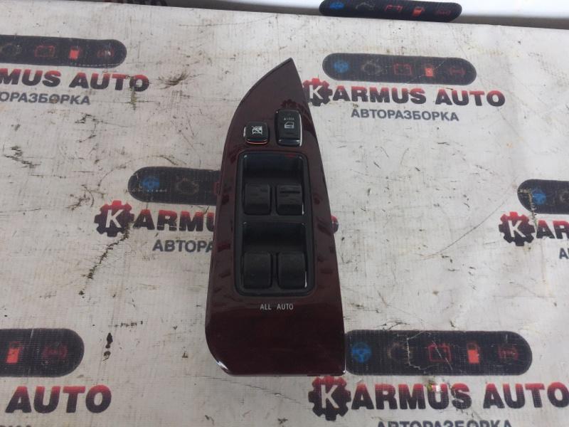 Блок управления стеклоподъемником Toyota Mark X GRX120 3GRFSE передний правый