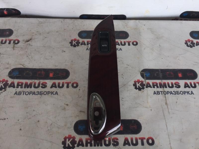Блок управления стеклоподъемником Toyota Mark X GRX120 3GRFSE задний правый