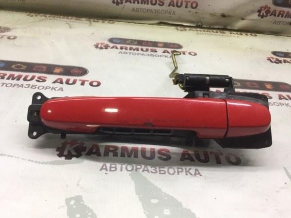 Ручка двери наружная Toyota Passo KGC10 передняя левая