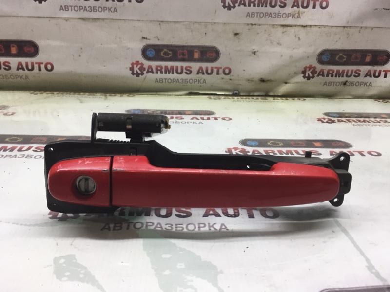 Ручка двери наружная Toyota Passo KGC10 передняя правая