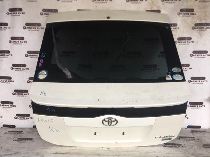 Дверь багажника Toyota Prius NHW20