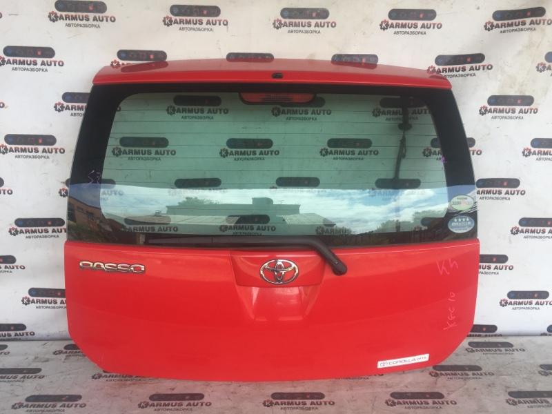 Дверь багажника Toyota Passo KGC10