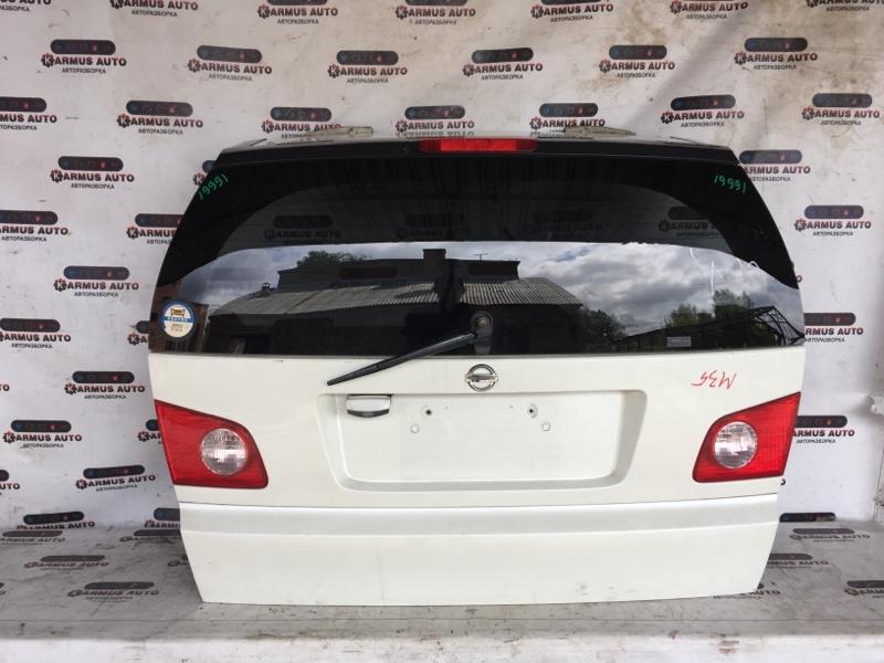 Дверь багажника Nissan Stagea M35