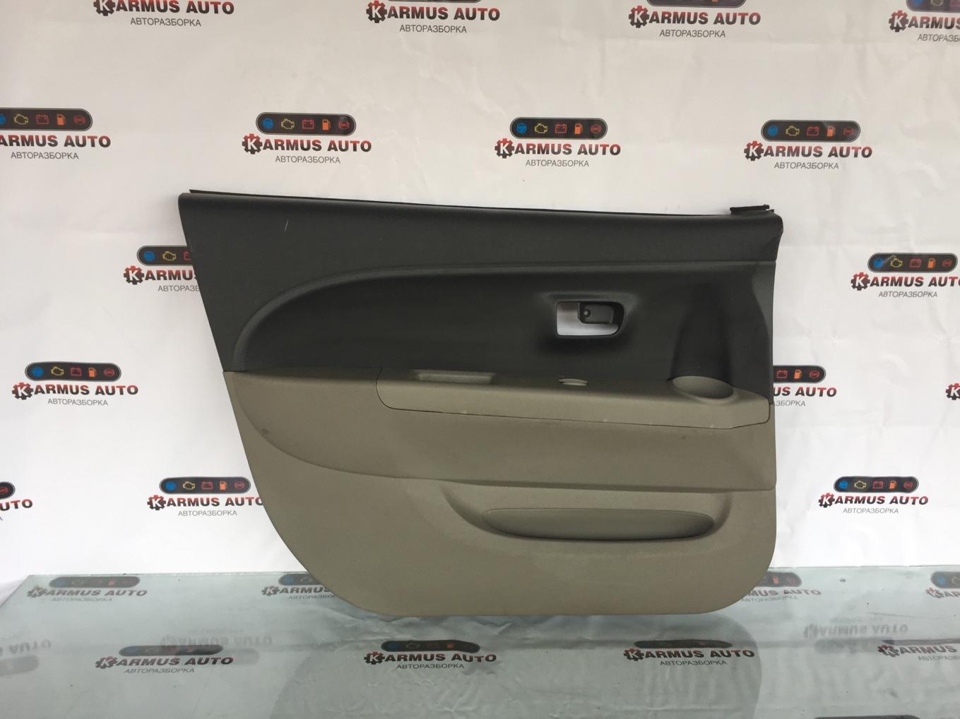 Обшивка двери Toyota Passo KGC10 передняя левая