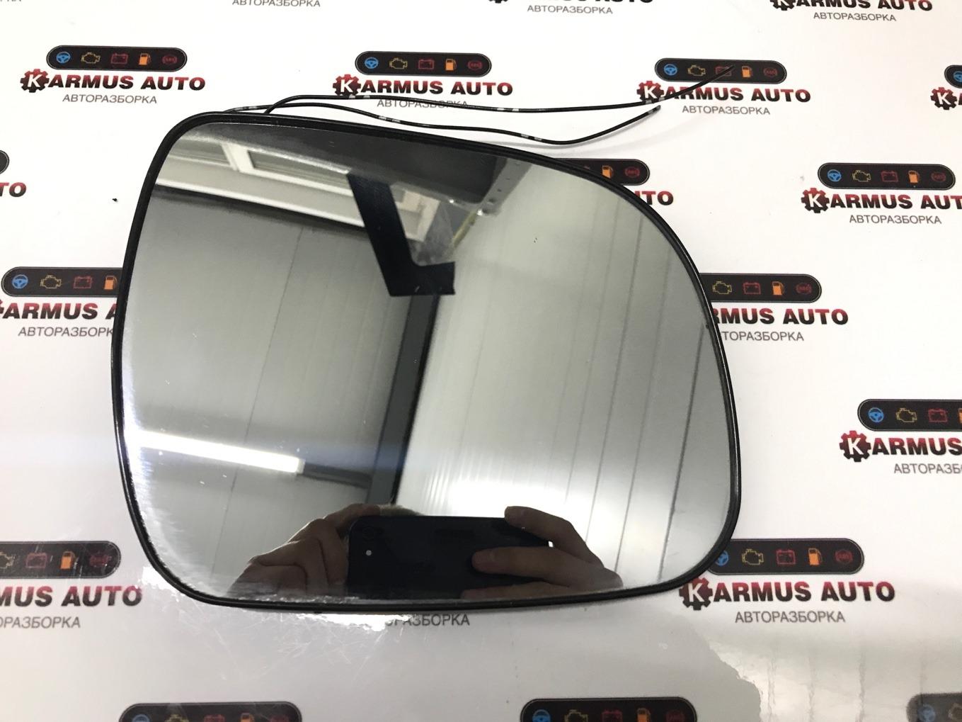 Полотно зеркала Toyota Highlander ASU40 правое
