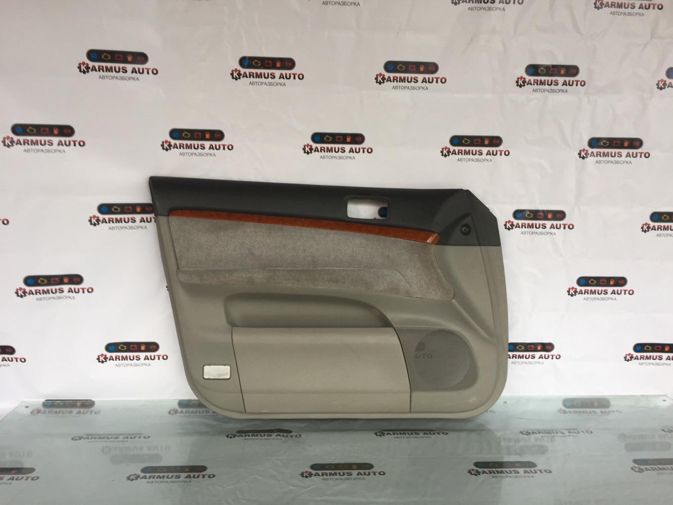 Обшивка двери Toyota Mark Ii JZX110 передняя правая