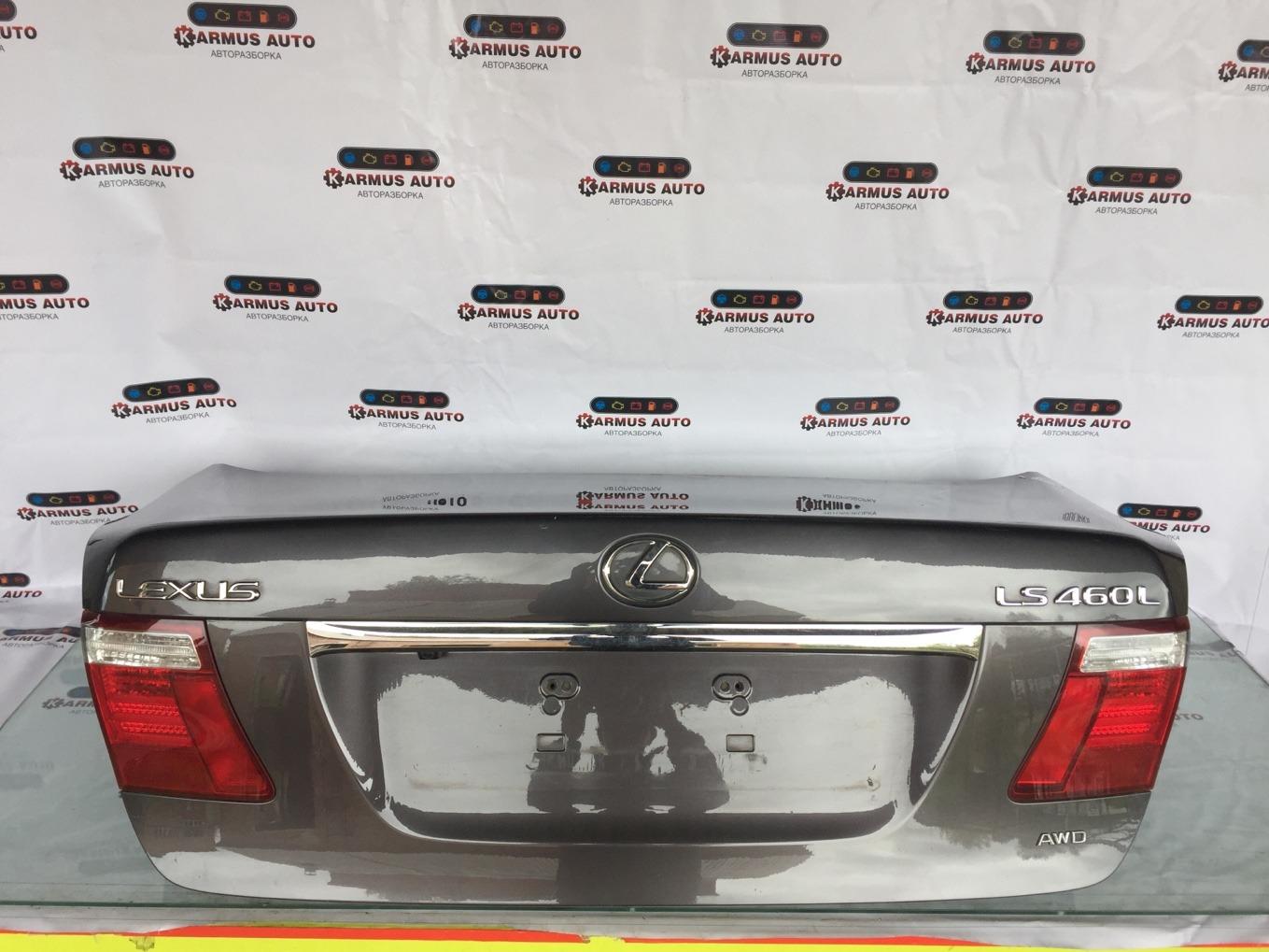 Крышка багажника Lexus Ls460 USF46 1URFSE 2008