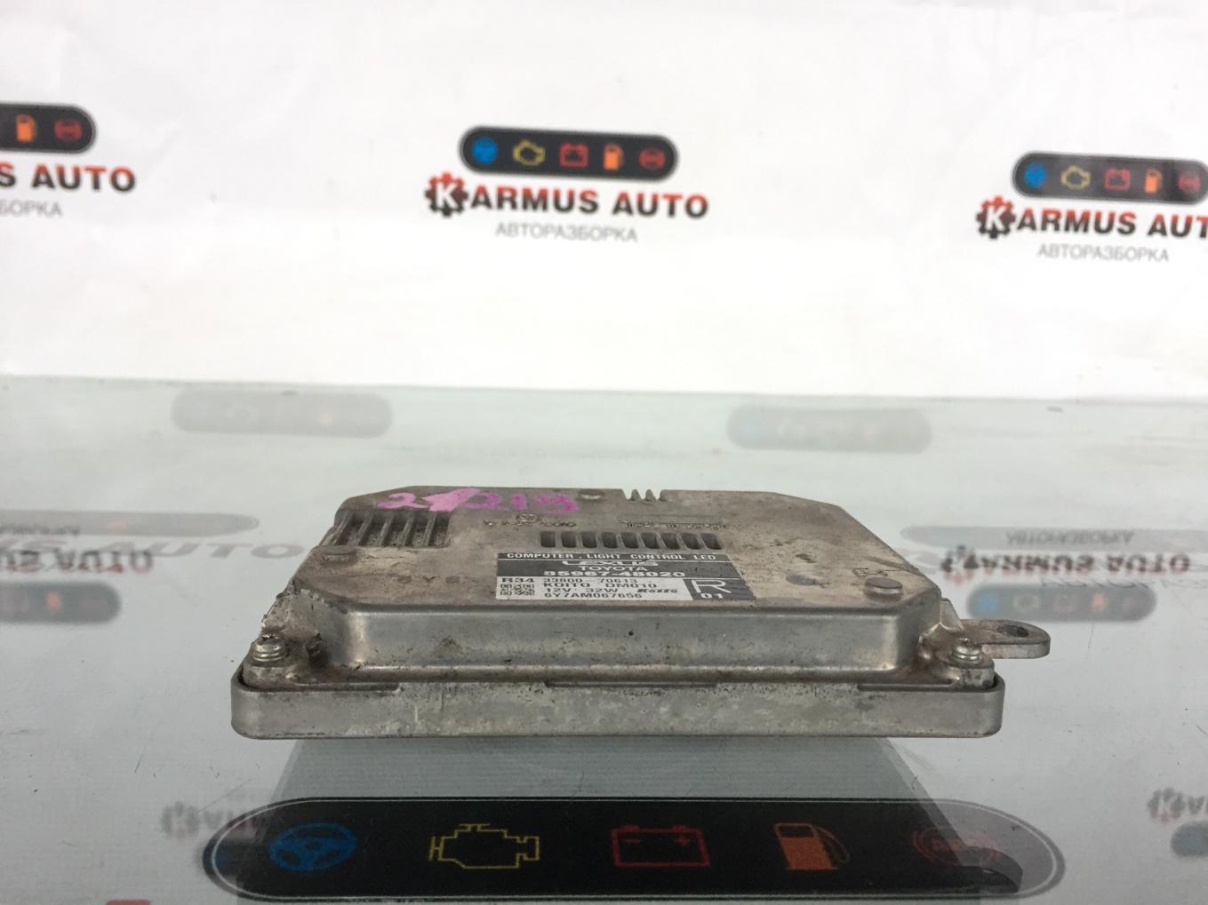 Блок управления фар Lexus Gs450H GWL10 2GRFXE 2012 передний правый