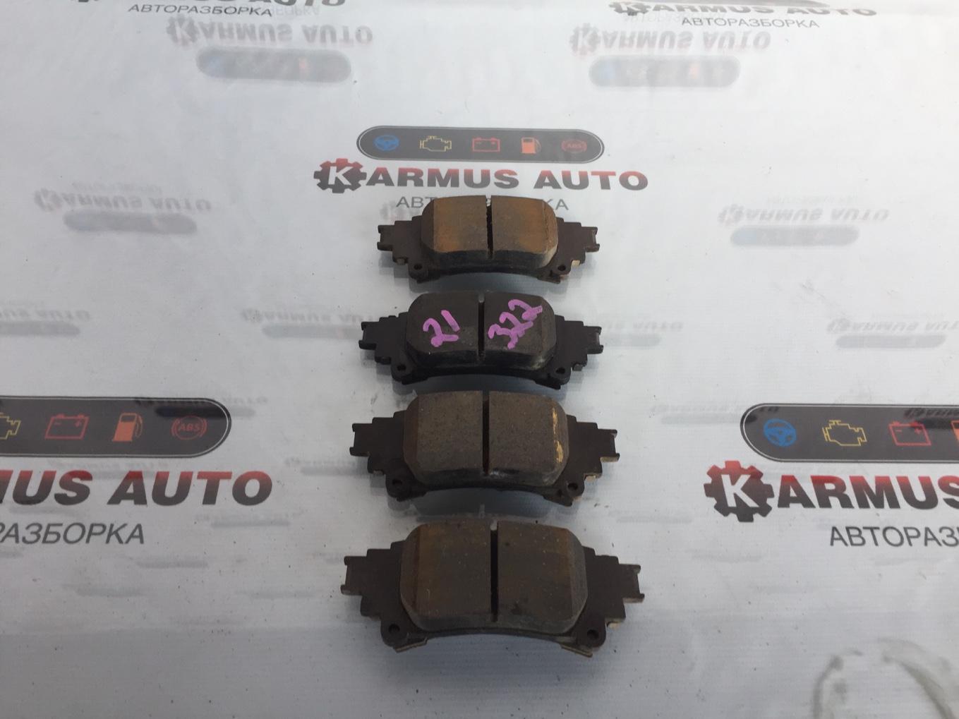 Колодки тормозные Lexus Gs450H GWL10 2GRFXE 2012