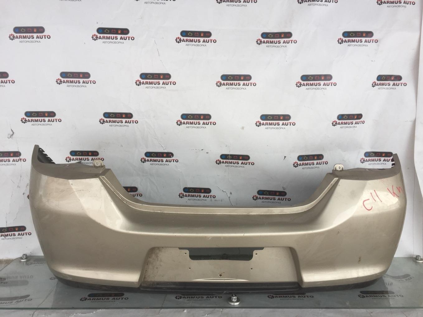 Бампер Nissan Tiida C11 задний