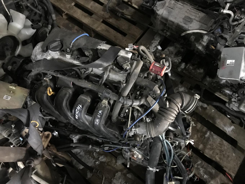 Двигатель Toyota Will Vs NZE127 1NZFE