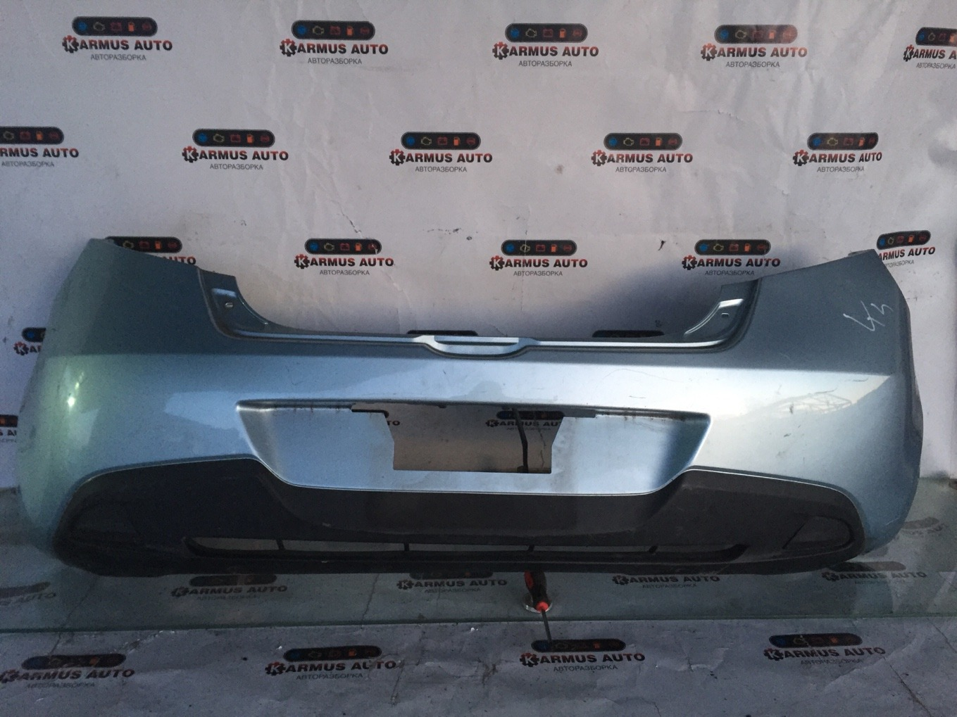Бампер Mazda Demio DE3FS задний