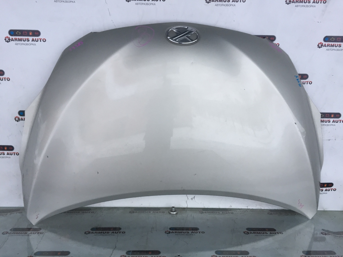 Капот Toyota Mark X Zio ANA10 2AZFE