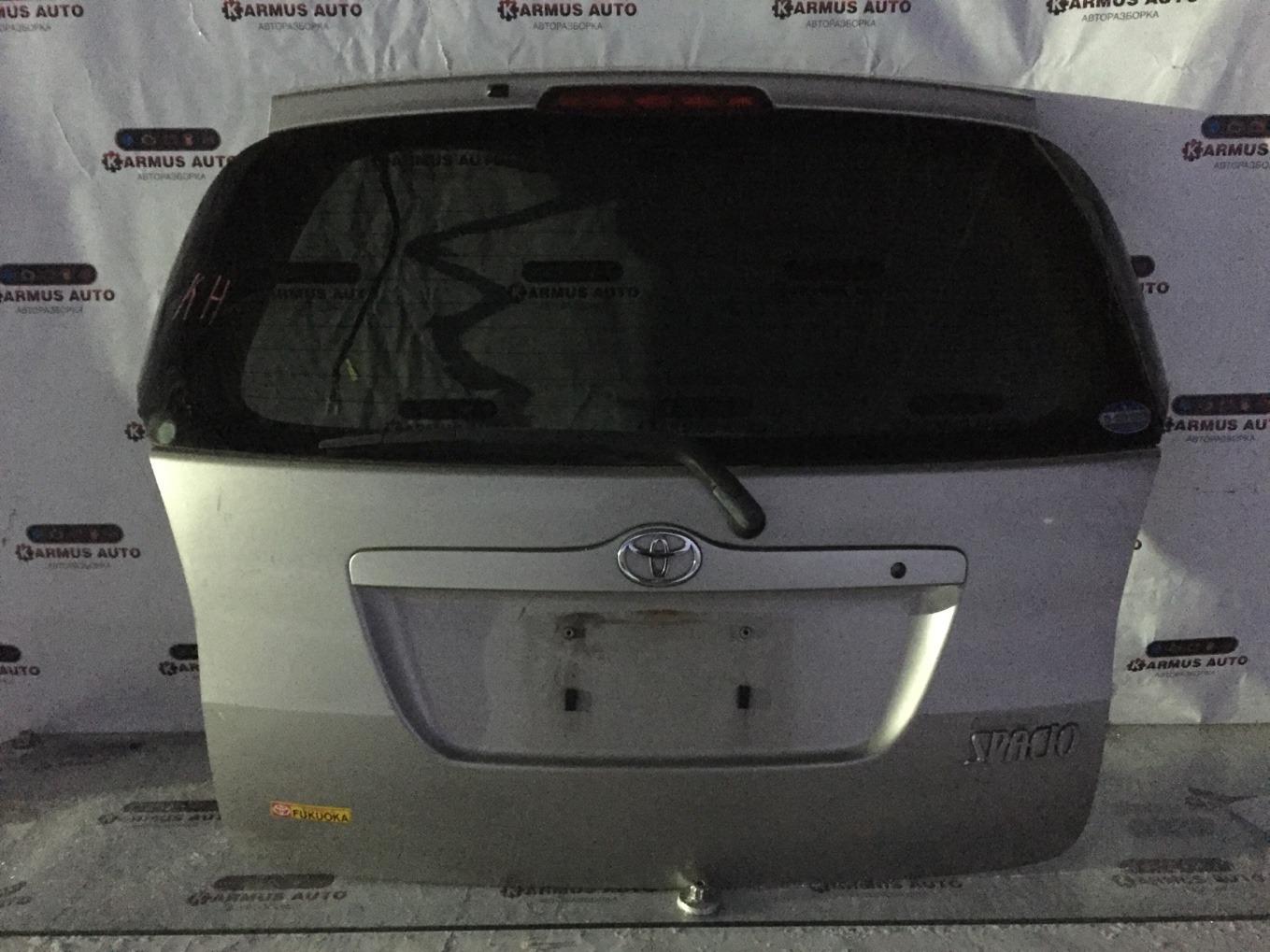 Дверь багажника Toyota Corolla Spacio NZE121 1NZFE