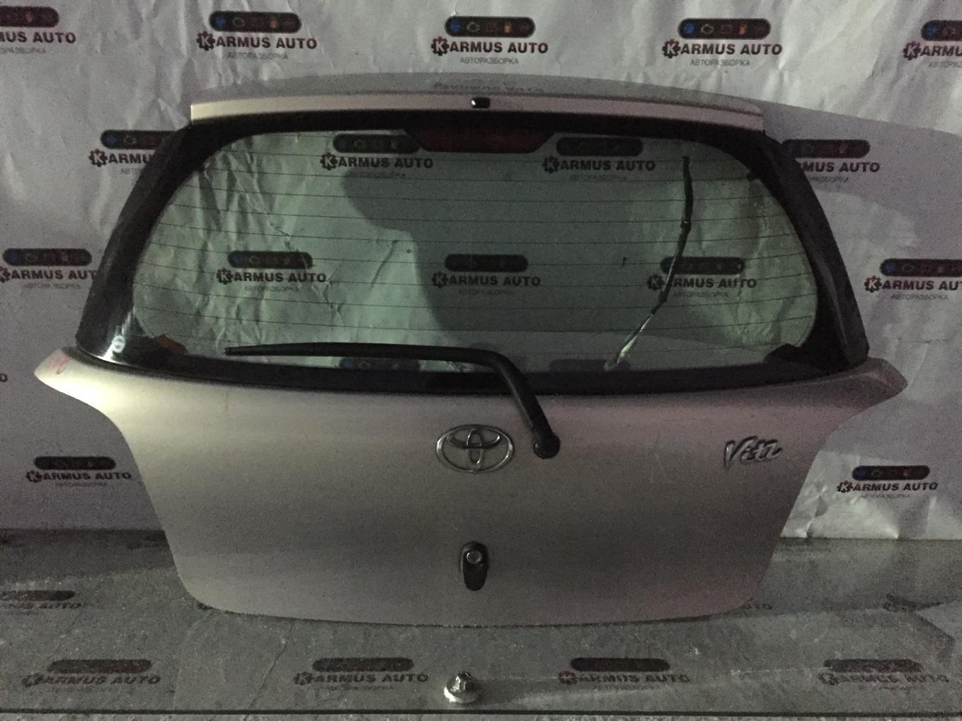 Дверь багажника Toyota Vitz NCP10 2NZFE