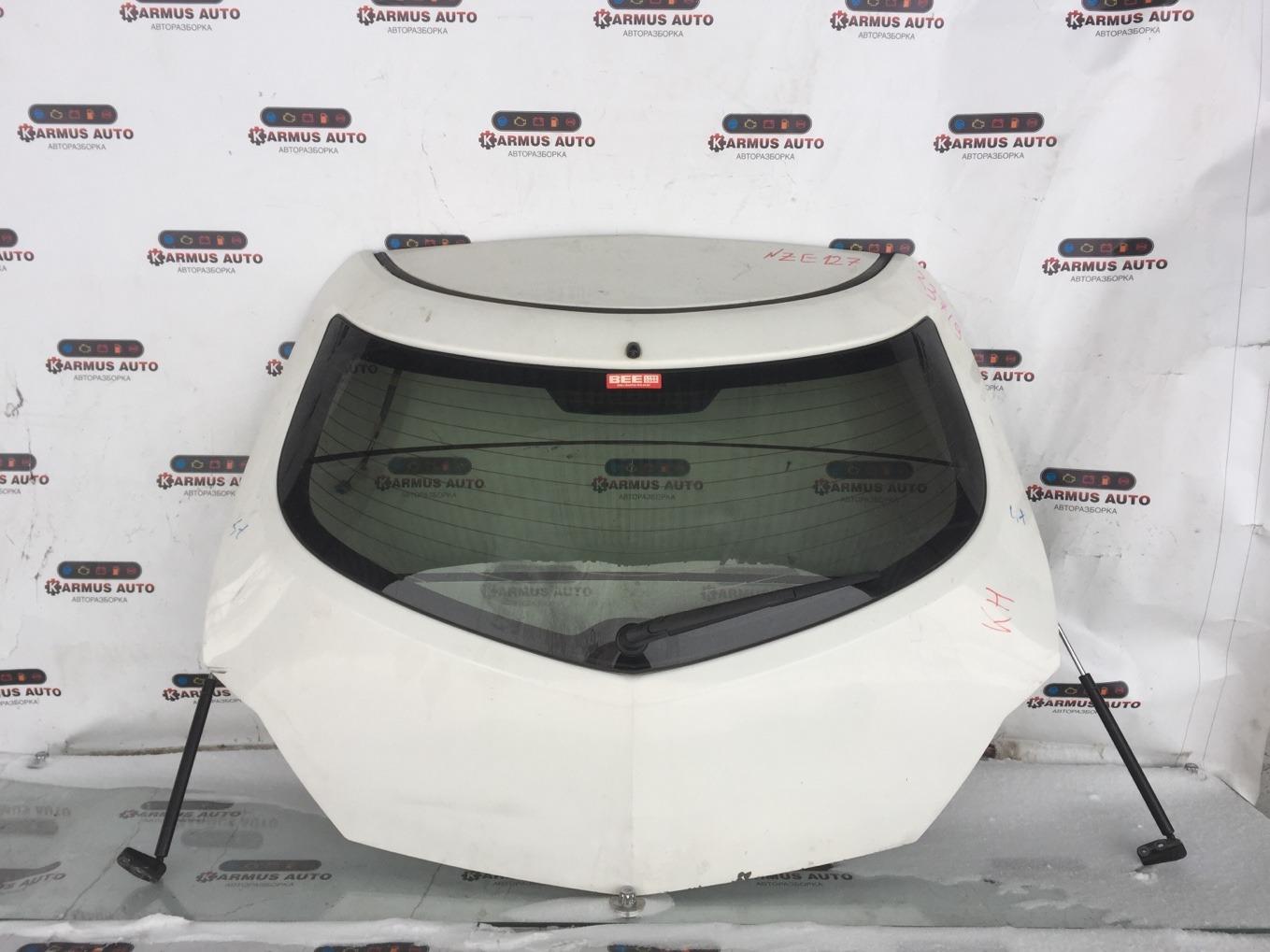 Дверь багажника Toyota Will Vs NZE127 1NZFE