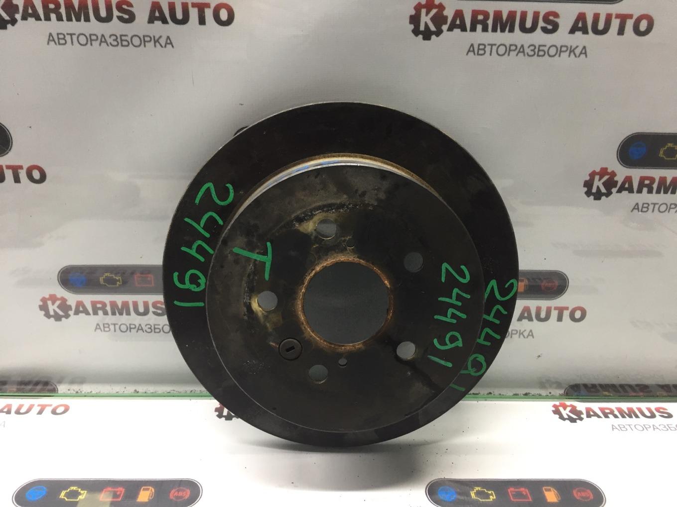 Диск тормозной Toyota Isis ANM10 1AZFSE задний